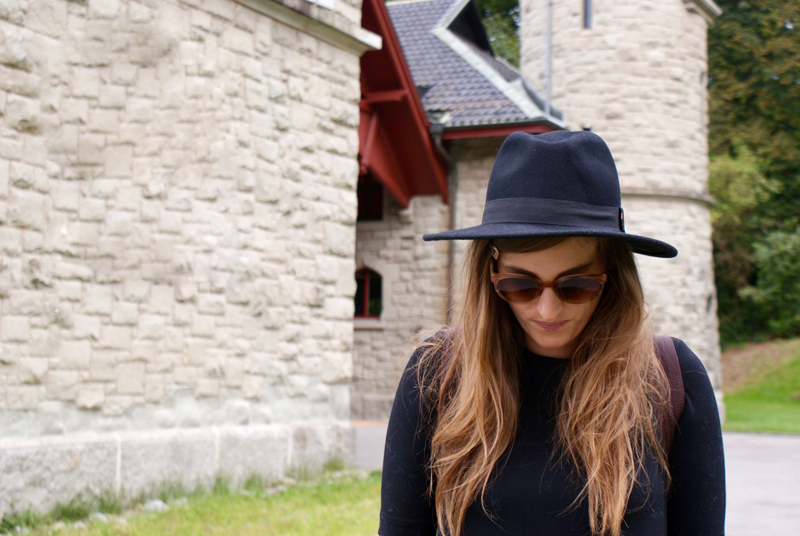 Black Hat and a Sunglass from VIU