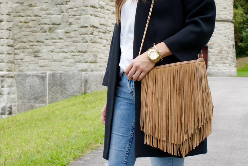 Buckskin Bag with fringes