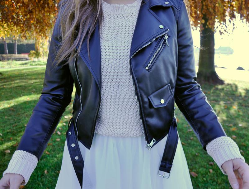 Biker leatherjacket from Zara