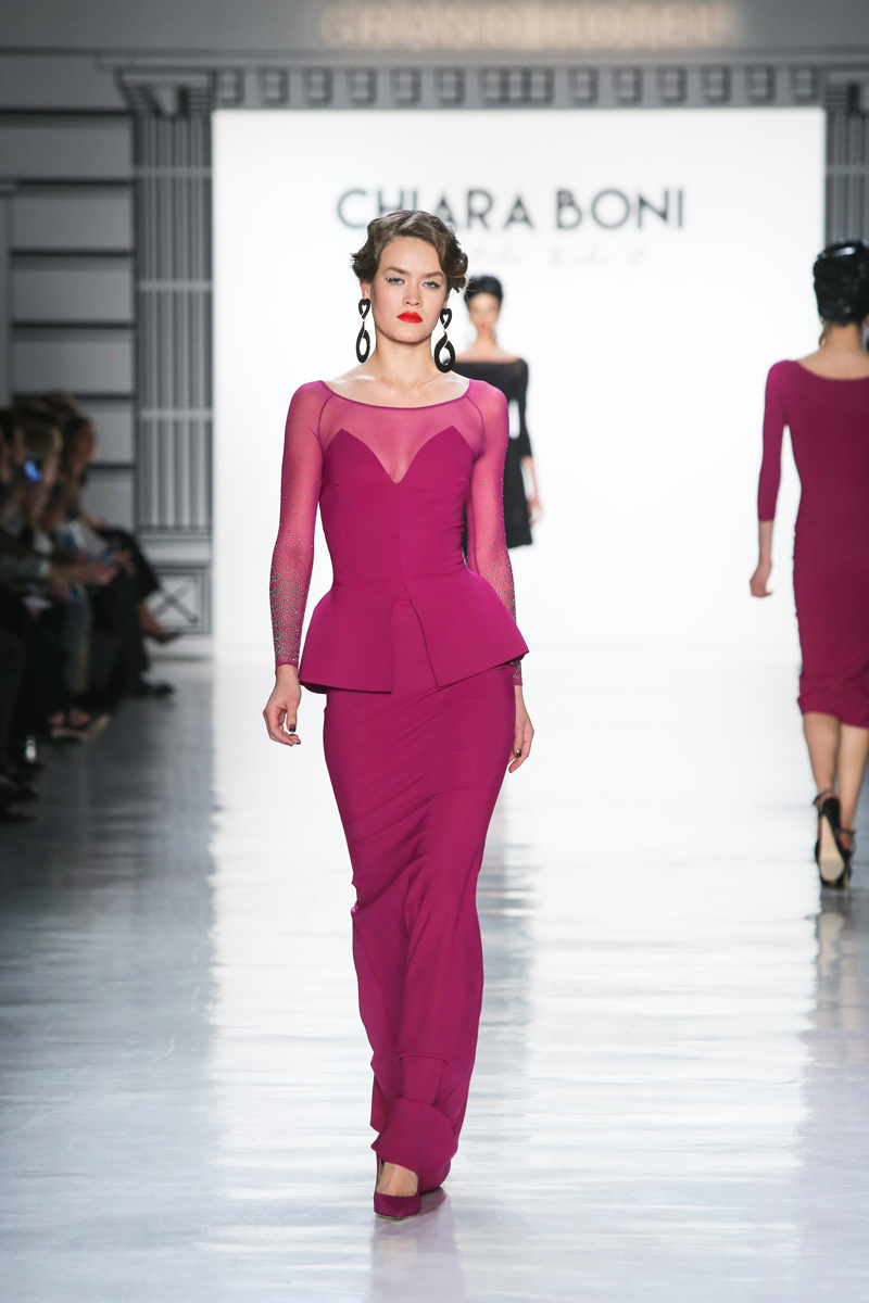 La Petite Robe collection of New York Fashion Week 2017.