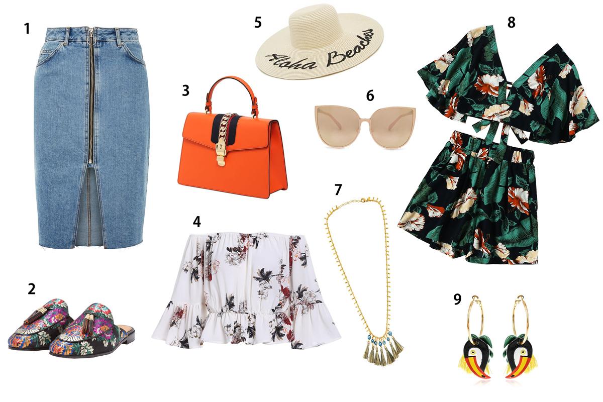 Fashionblogger, Andrea Steiner von Strawberries 'n' Champagne zeigt euch Modeinspiration für den Sommer.