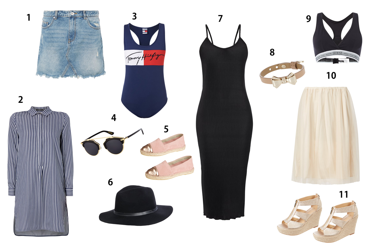 Fashionblogger Andrea Steiner von Straberries 'n' Champagne zeigt euch die Sommer Kleidungsstücke die ein Muss sind für diese Saison bei Peek & Cloppenburg.