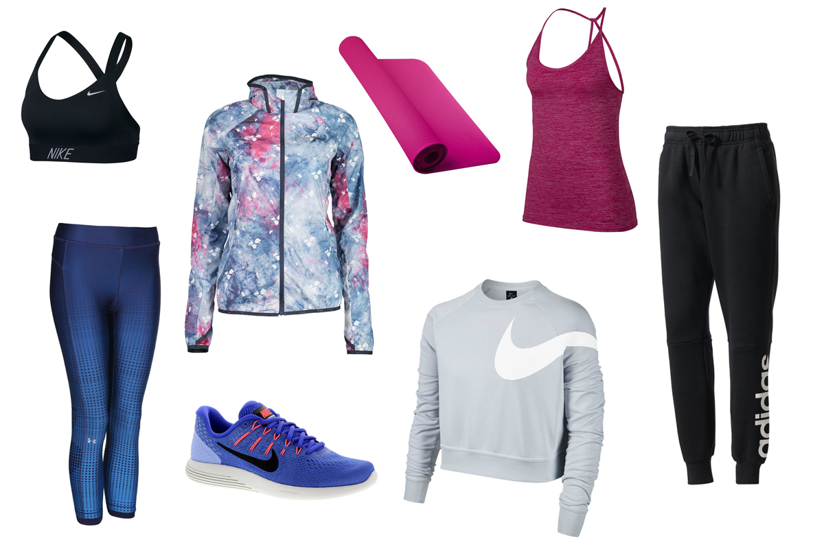 Andrea Steiner, Fashion blogger von Strawberries 'n' Champagne zeigt euch welche Klamotten sie im Herbst trägt währen des Sports.