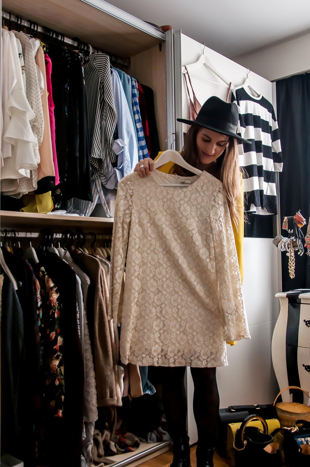 Modebloggerin, Andrea Steiner von Strawberries 'n' Champagne verkauft Ihre Klamotten jetzt auf Tradono.