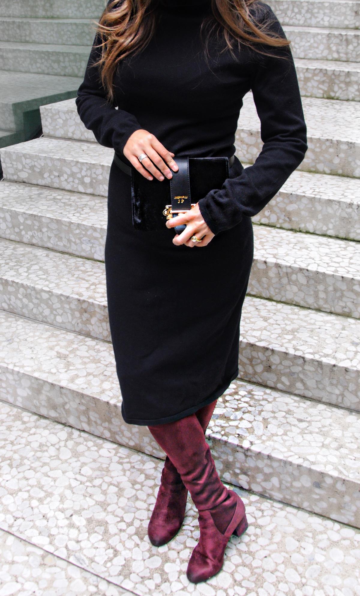 Andrea Steiner Modebloggerin aus Luzern in der Schweiz zeigt auf ihrem Mode- und Beauty Blog Strawberries und Champagne wie Bauchtaschen diese Saison getragen werden.