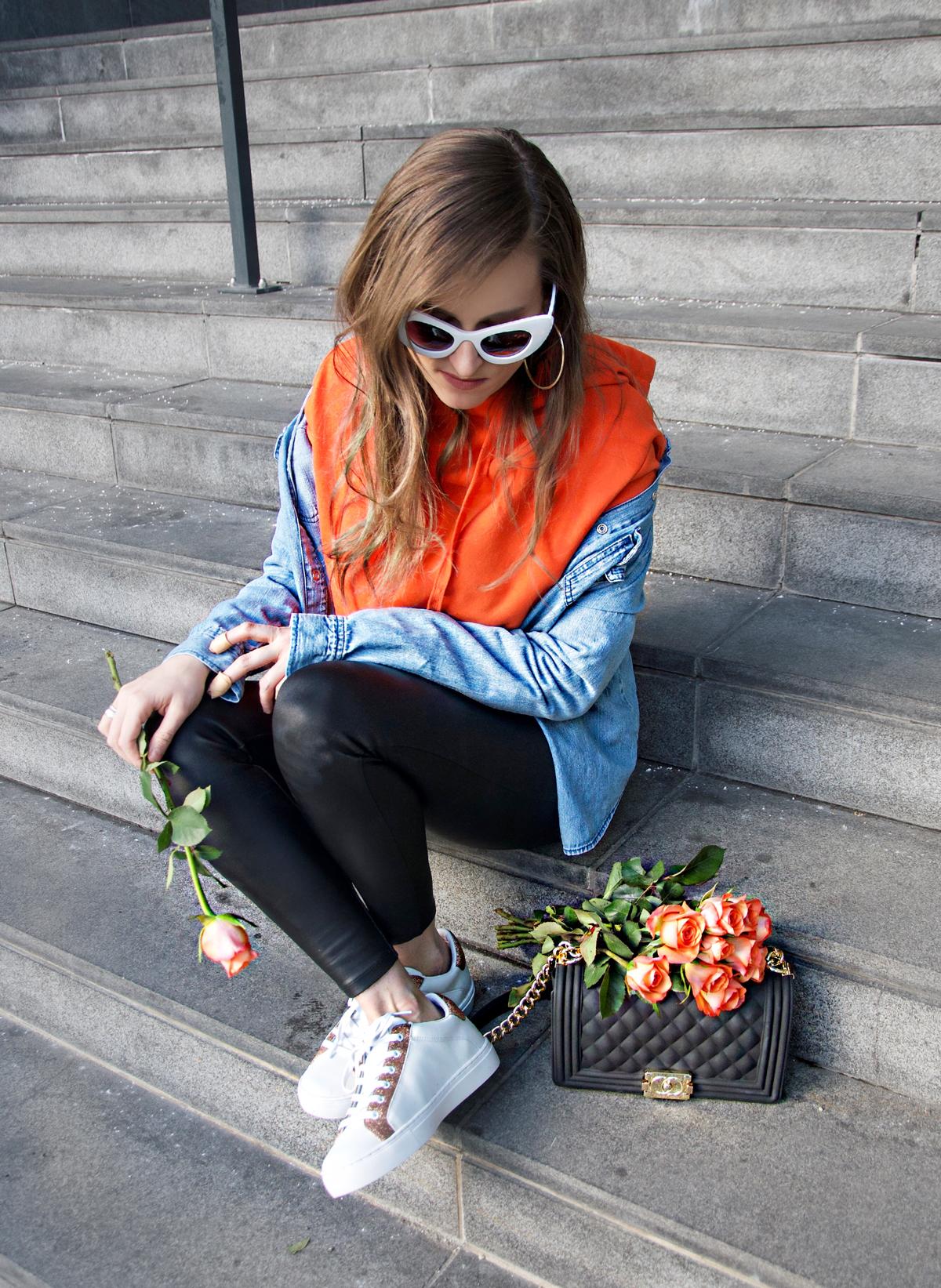 Andrea Steiner Modebloggerin aus Luzern berichtet auf ihrem Mode Blog Strawberries 'n' Champagne welches die neusten Sneaker Trends 2018 sind.