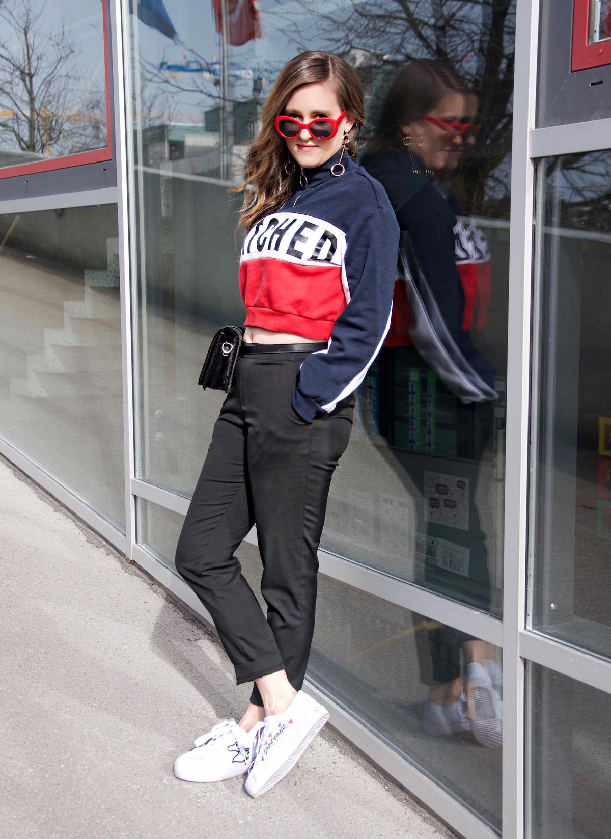 Andrea Steiner, eine Mode Bloggerin aus Luzern zeigt auf Ihrem Blog Strawberries 'n' Champagne den