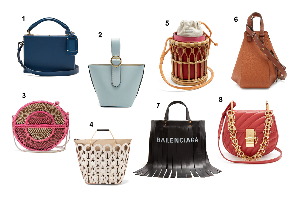 Andrea Steiner, fashion blogger from Switzerland write on her fashion blog Strawberry Champagne about the latest bag trends.