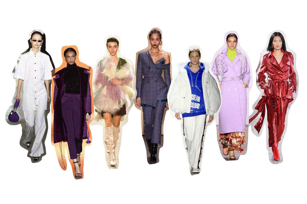 Andrea Steiner, fashion blogger from Strawberries 'n' Champagne shows all the trends and highlights of this NYFW and the upcoming trends for Fall/Winter 2019/2020.